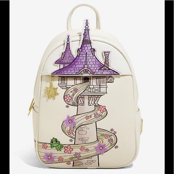 Loungefly Bags Disney Tangled Tower Mini Backpack Poshmark